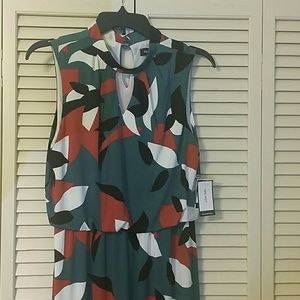 🔥NWT🔥Nine West Sleeveless Print Dress